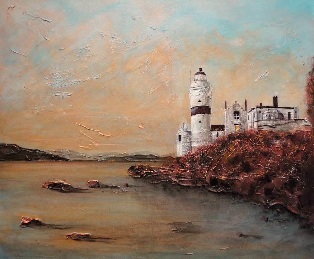Cloche Lighthouse by Kevin Hunter